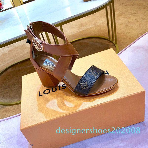 yüksek kalitede moda kadın varken Kadınlar yaz moda sandalet ayakkabı ayakkabı lüks kadınlar ayakkabı elbise yüksek topuklu lüks desig sandalet D08