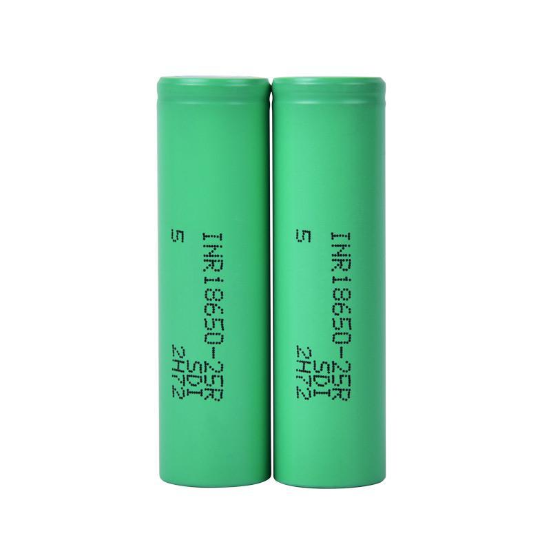 100% Yüksek Kalite 18650 Pil ile 2500 mAh Max Şarjlı Lityum Piller Hücreler Için Fit Vape Kutusu FJ752