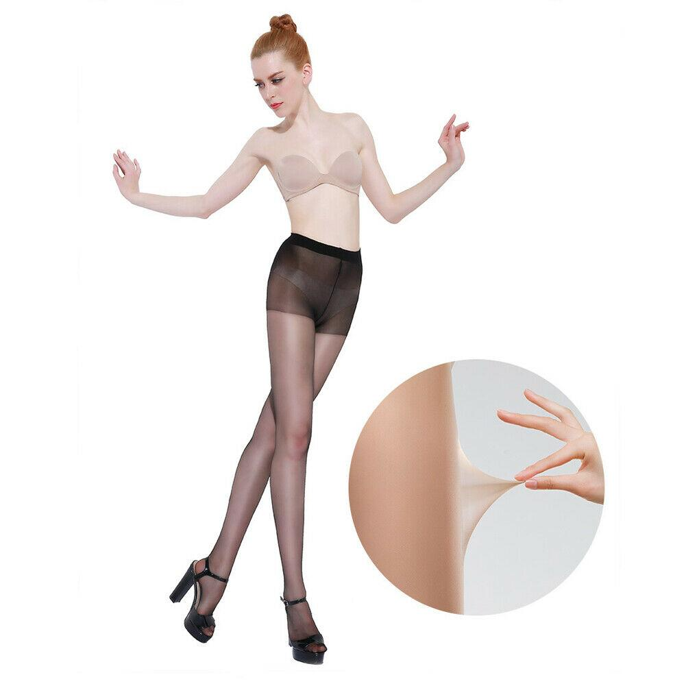 Sexy Casual Breathable High Waist Tights Women Elastic Pantyhose Ultra-thin Nylon Tights Skin Black Gray Brown