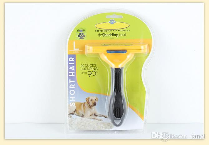 2019 nouvelle brosse pour chien chien chat peigne épilation cheveux longs cheveux courts toilettage chien outil