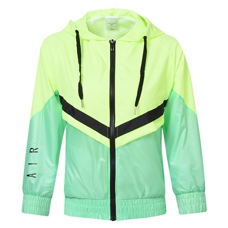 Kadınlar Lüks Tasarımcı WINDBREAKER Kazak Yüksek Kalite Kadın dış giyim için İlkbahar Sonbahar Sıcak Marka Sport Ceket M-2XL2 Tops