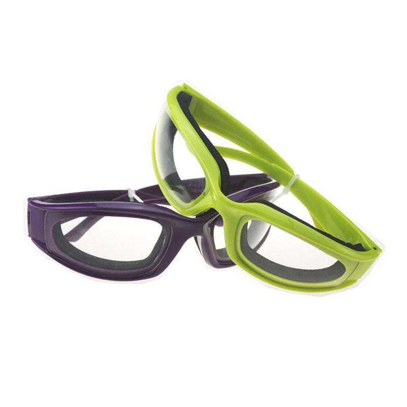 Cebola corte Goggles Eye Protector Evite Lágrimas Slicing Anti-picante Óculos Kitchen Gadget --M25