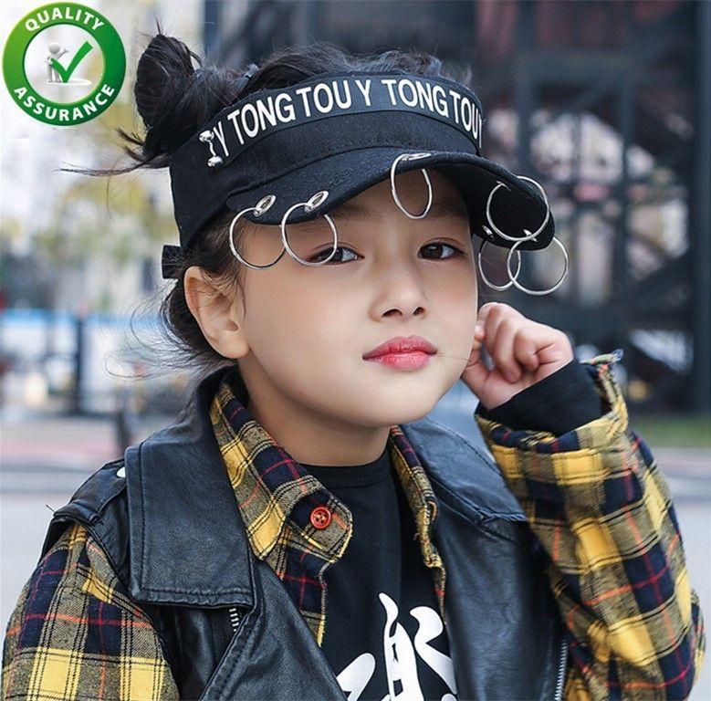 Cappellino da uomo Cappellini da baseball Fresco Berretti da baseball Ragazzi da lettera Lettera Regolabile per bambini Cappello Hip Hop Cappellini per il sole Donna Moda Rock Elegante Casual per bambini