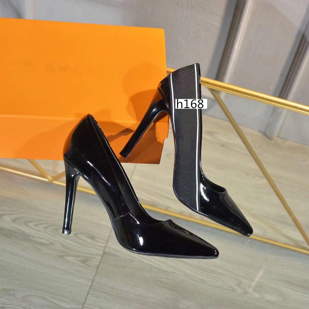 Marques populaires So Kate Styles de Designer Shoes High Heels 10 CM Véritable taille Toe Point cuir 37