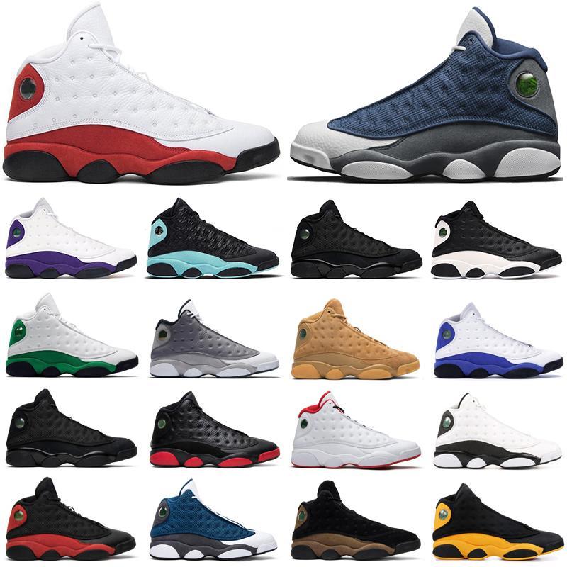 13 Новые 13 Он получил игру Мужская баскетбольная обувь Призрачная черная кошка Чикаго разводила Мело Класс 2003 Hyper Royal спортивные кроссовки размером 8-13