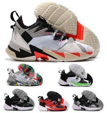 Jumpman Why Not Zer 0.3 Scarpe Uomo di pallacanestro Russell Westbrook ZER0.3 Rumore La famiglia Heartbeat nero 2020 nuovo arrivo Hombre Sneakers