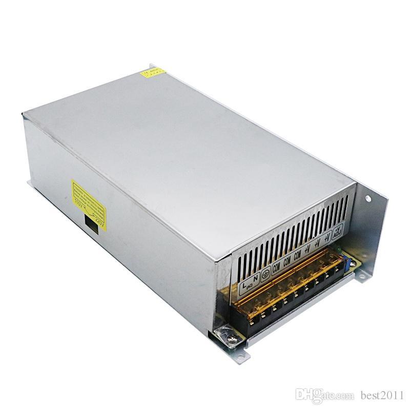 AC 110V//220V zu DC 12V 50A 600W Netzteil Trafo Schaltnetzteil Adapter Treiber EU