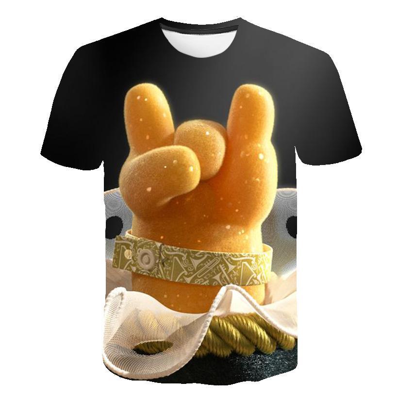 Children's Wear Sonic Anime Series Youth Print Short Sleeve 3D Harajuku Cartoon T-Shirt Summer Promotion Fashion Parent-child Wear