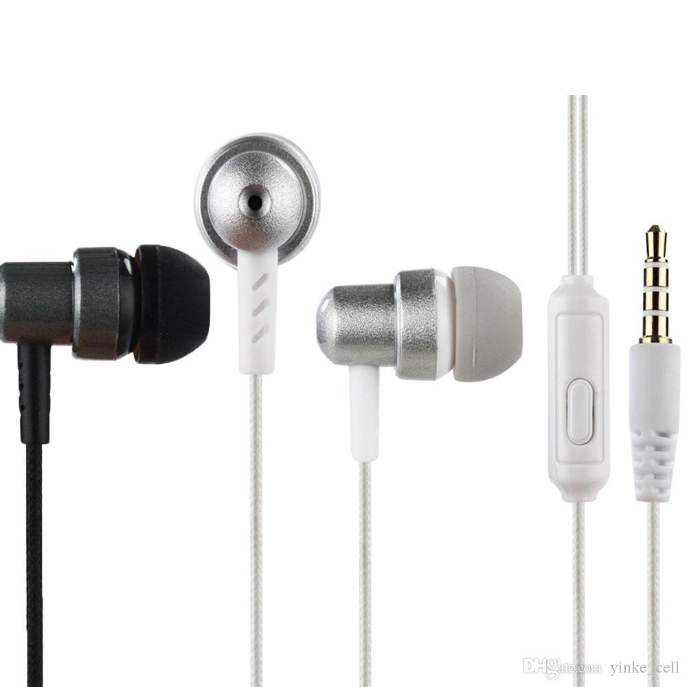 3 5mm Wired In Ear Earphones Headset With Microphone Earbuds Stereo Music Sports Earpiece For Smart Phone Best Cell Phone Earbuds Best Wired Earbuds From Yinke Cell 1 9 Dhgate Com