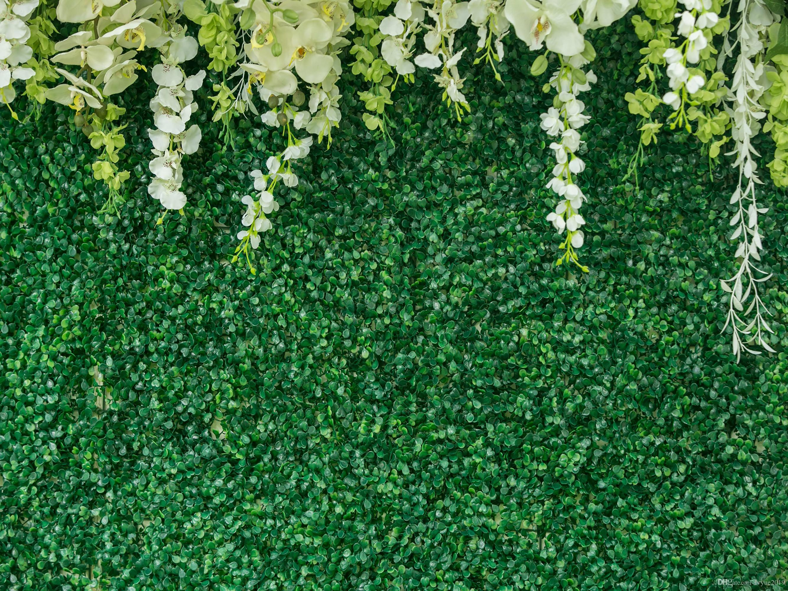Bridal Shower Wedding Floral Wall Backdrop Photo Booth Props White Background UK