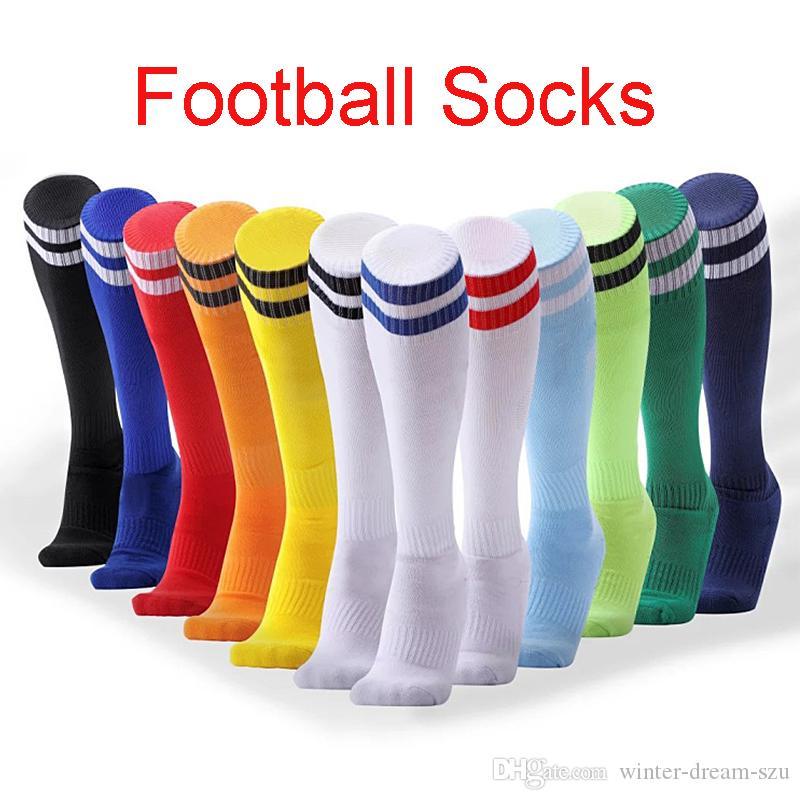 Breathable Adult Men Compression Long Socks Warm Football Socks Running Socks ZH