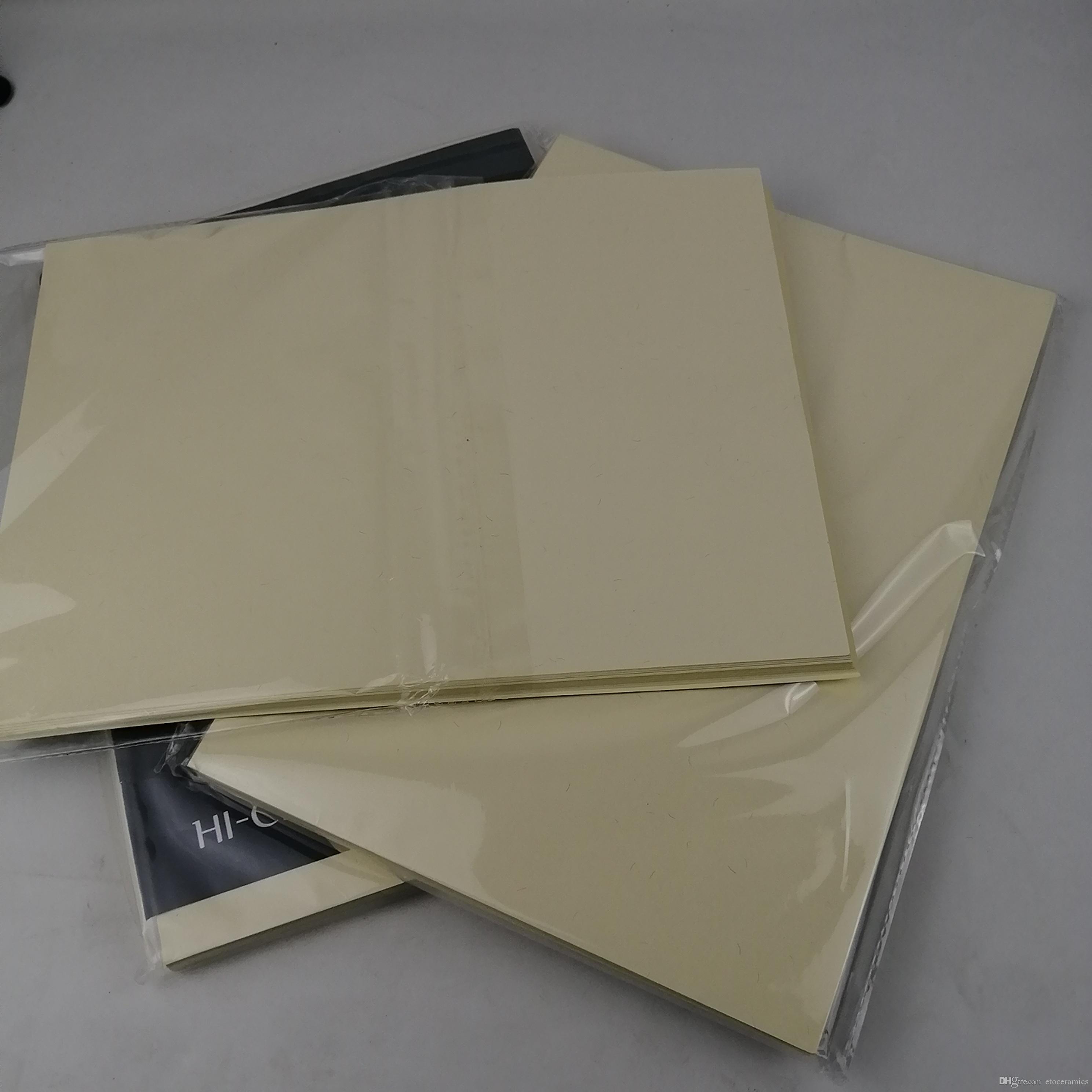ABD 200pcs 200 yaprak yazı kağıdı% 75 pamuk,% 25 keten geçiş sahte kalem Test kağıdı, beyaz renkli 8.5in * 11in kağıt