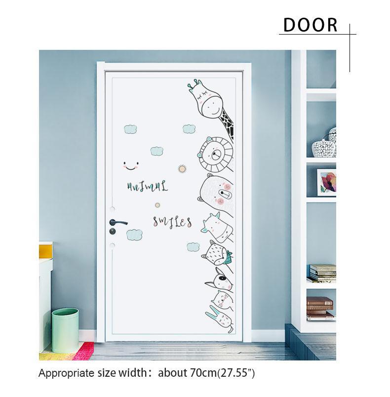 Bedroom Door Stickers Corner Sticker Baby Wall Sticker For Kids Room Wall Decor Decor Decals Stickers Vinyl Art Com Home Garden