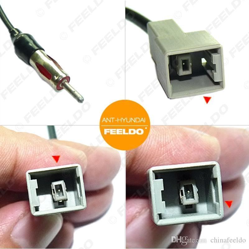 оптовые продажи автомобилей Радио жильный кабель для Hyundai (09-2011) / Kia KI-11 гнездовой разъем антенный адаптер SKU: 1548