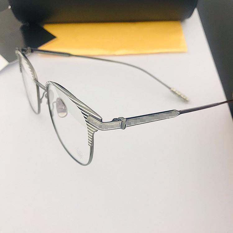 2020 CH الرجعية-فينتاجيتونيوم alloyfullrim نظارات الإطار للجنسين 51-20-146 بيانو الشريط لصفة النظارات fullset حالة