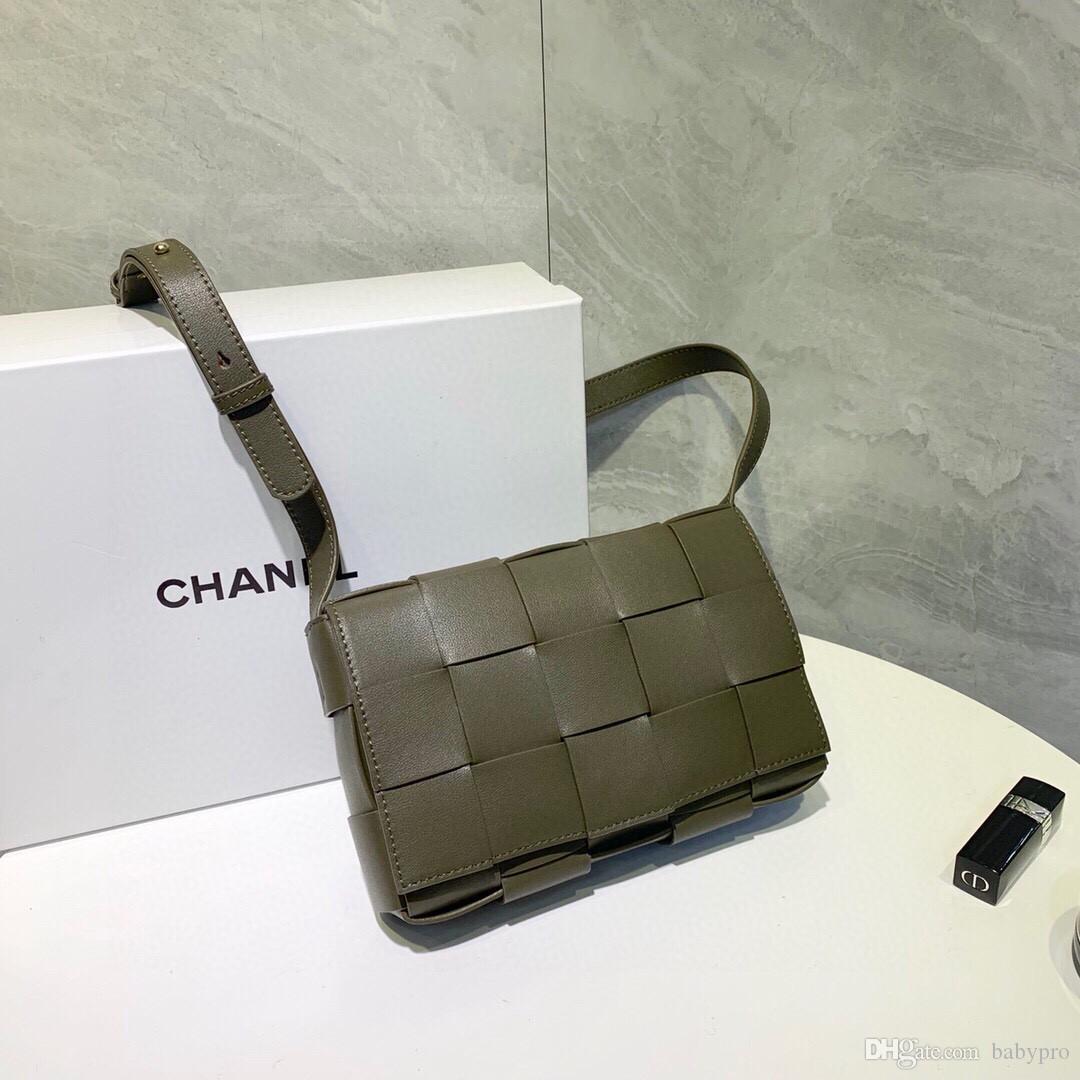 Top-Qualität Frauen Mensledertaschen Umhängetaschen Handtaschen purese 2020312-342 * 1361 * 174