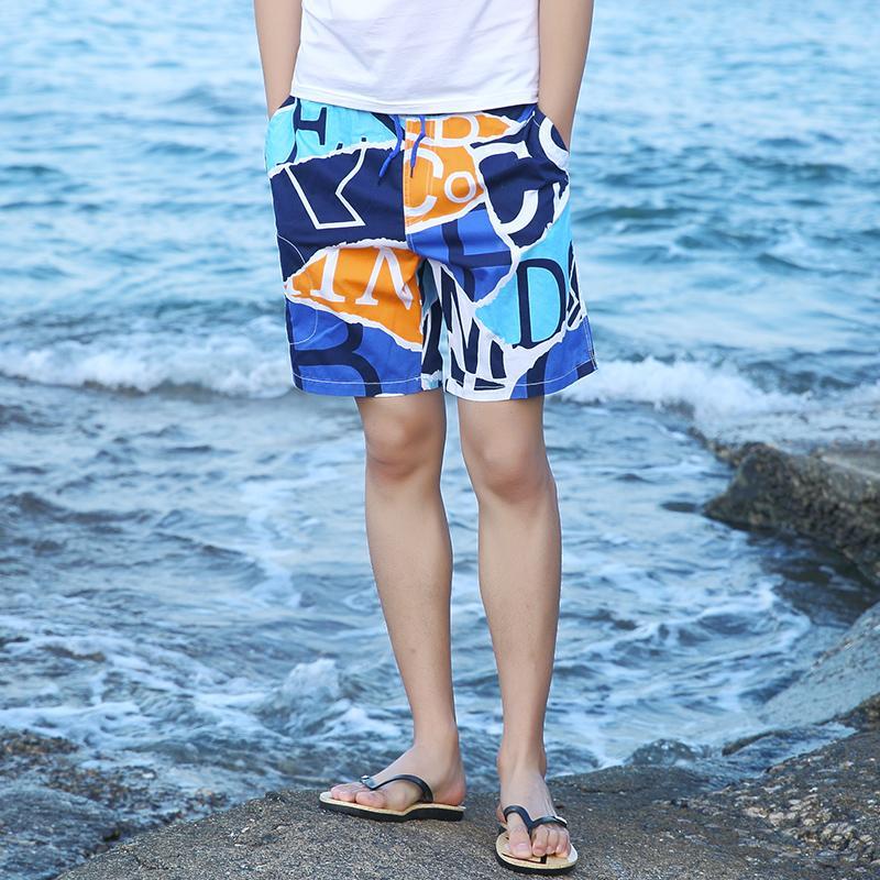 Été maillot de bain homme Maillots de bain Homme 2020 Plage Bermuda Briefs Bañadores hombre Trunks Natation Surf Board Shorts Hommes