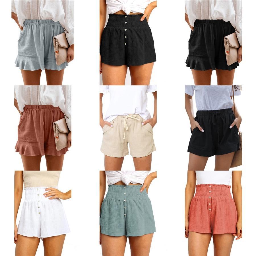 Hot vente Femmes court Hip Hop Pantalon de haute qualité Motif d'été décontracté Femmes court Taille M-2TG # 988