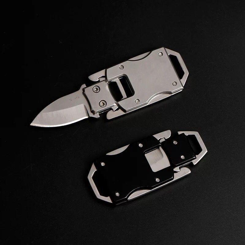 야외 미니 다기능 나이프 도구 접는 포켓 도구 포켓 도구 핸드 툴 키 체인 펜치 나이프 스크류 드라이버 껍질 칼