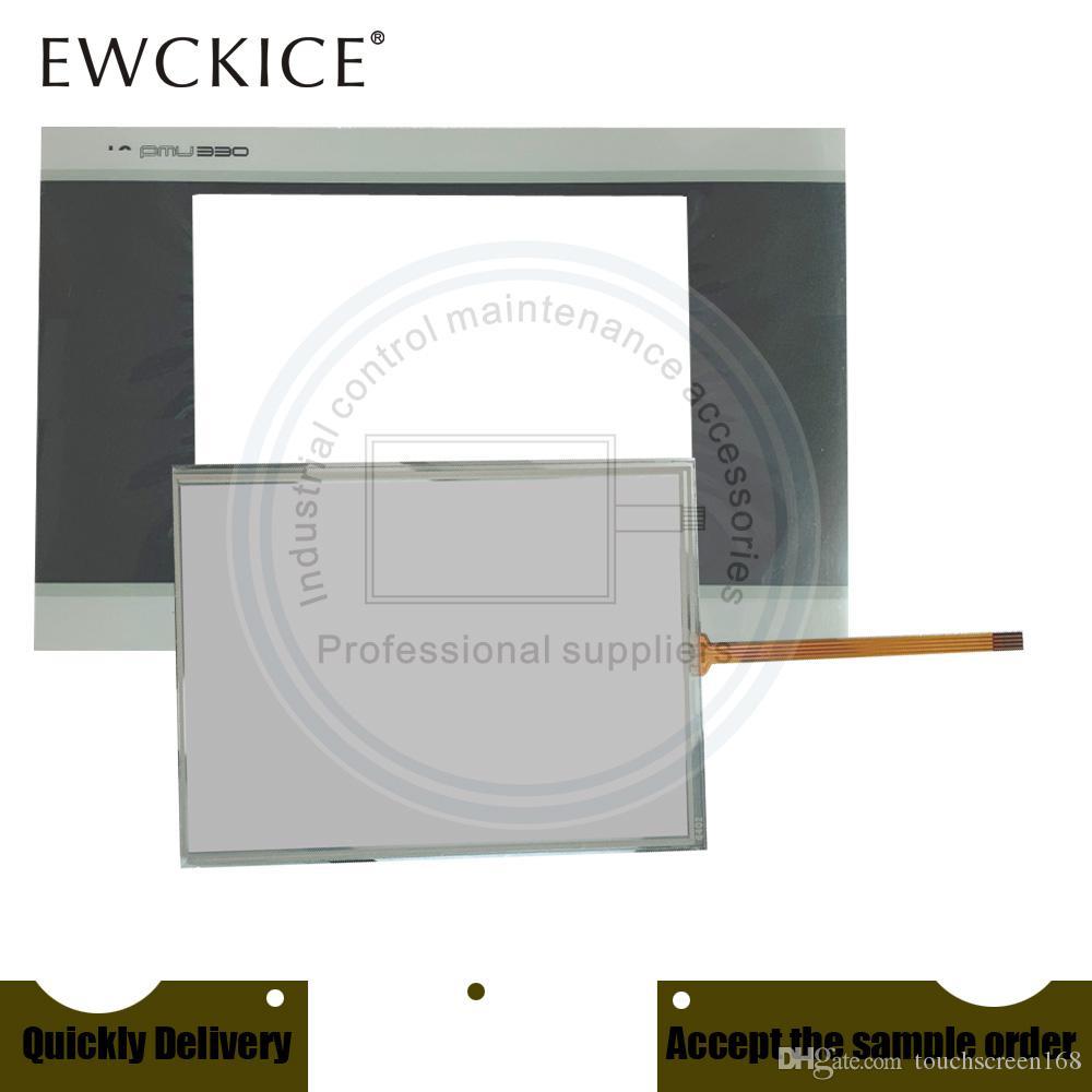 Orijinal YENİ PMU-330BT PMU-330BT PMU-330BTE PLC HMI Sanayi TouchScreen VE Ön etiket Film Dokunmatik ekran VE Frontlabel