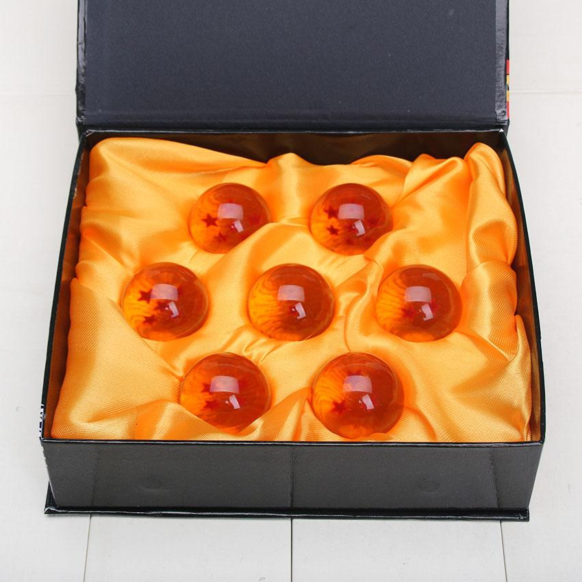 3,5 centímetros 7 Stars Dragonball Bola Esferas Del Dragão Brinquedos Dragão Z Action Figure 7 bolas de cristal Brinquedos Presente Para Namorado MX191105