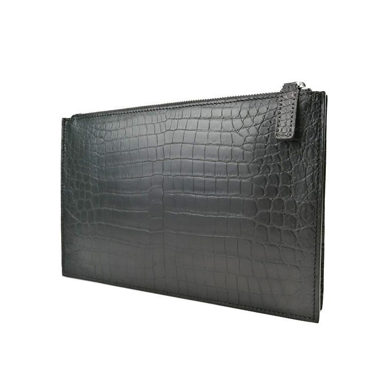 Elegant2019 Genuine Crocodile Leather Hand Package Man Concise Business Affairs Believe Occlusive Wrap Soft Place Of Origin