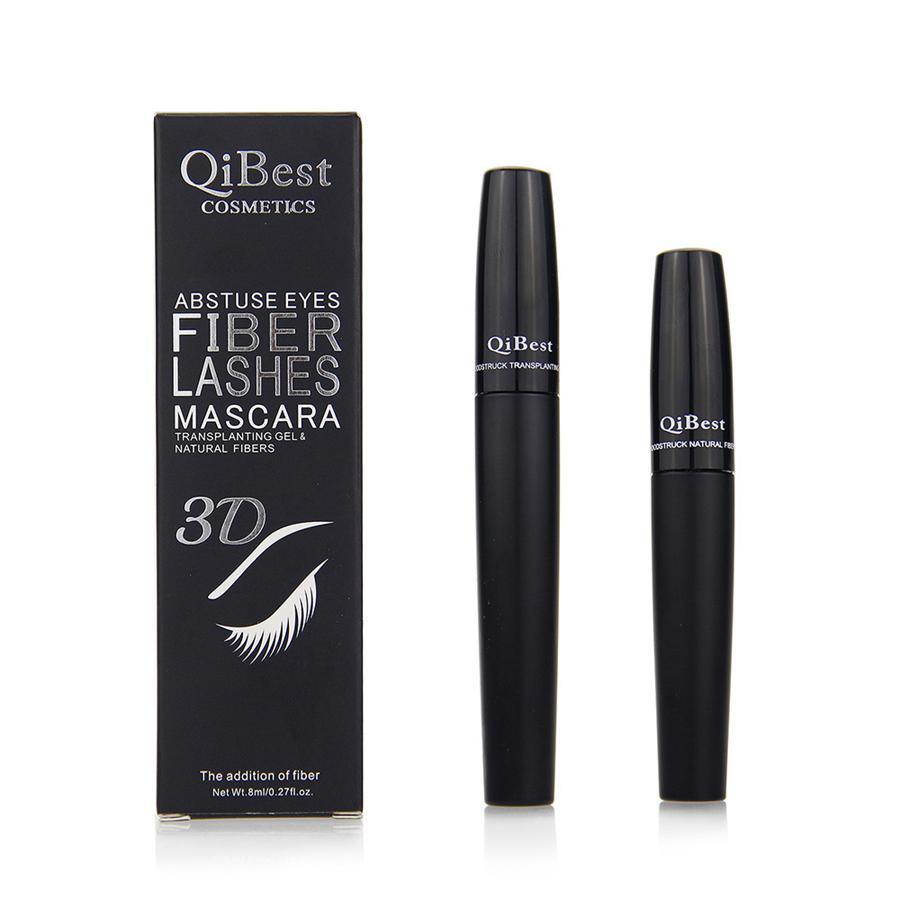 3D Fiber Mascara Long Black Lash Eyelash Extension Waterproof Eye Makeup Extension Eyelash 3D Silk Fiber Lash Mascara Tools RRA998