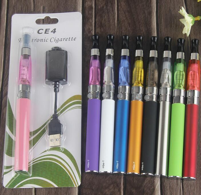 Ego ce4 Starter Kit Ugo-t CE4 Electronic Cigarette Atomizer Ce4 E Cig Blister Kit 650mah 900mah 1100mah EGO-T Battery E-cigarette