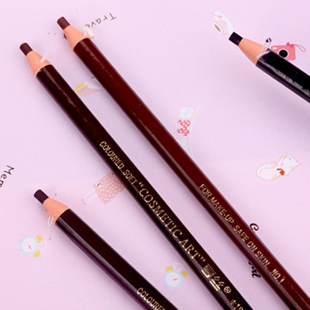 crayon imperméable crayon à sourcils maquillage permanent 1pc Microblading positionnement lèvre cijas maquillaje