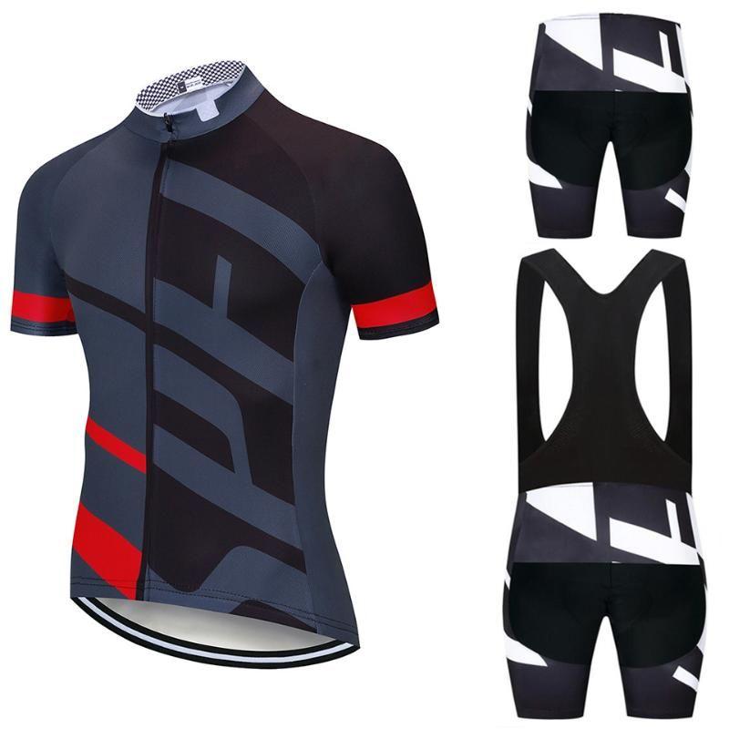 2020 new jersey Ciclismo Set Estate biciclette Abbigliamento Maillot Ropa Ciclismo Hombre MTB Bike Abbigliamento sportivo Suit Ciclismo Set