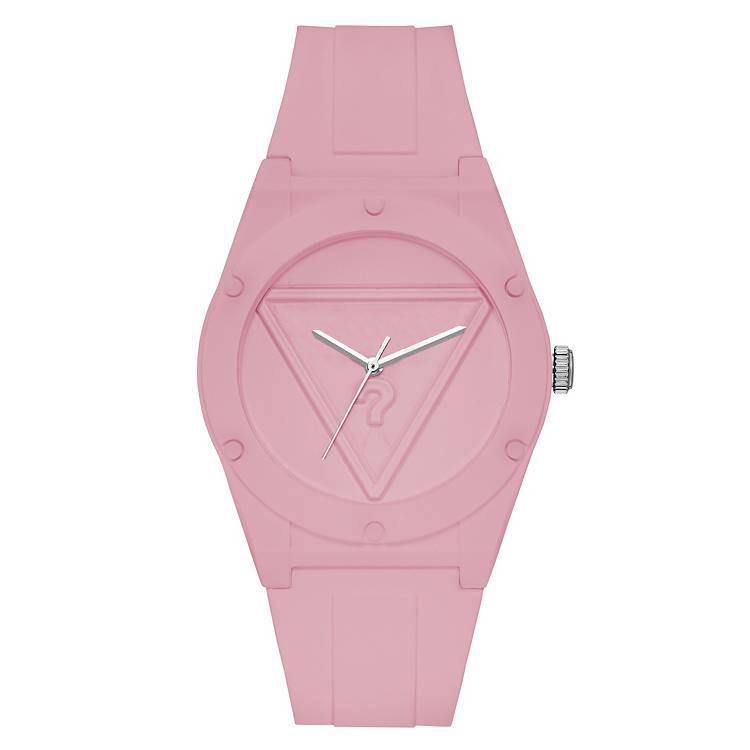 Orologio da polso al quarzo di marca per donna Ragazza con cinturino in silicone a quadrante triangolare con quadrante triangolare. Orologi GS20