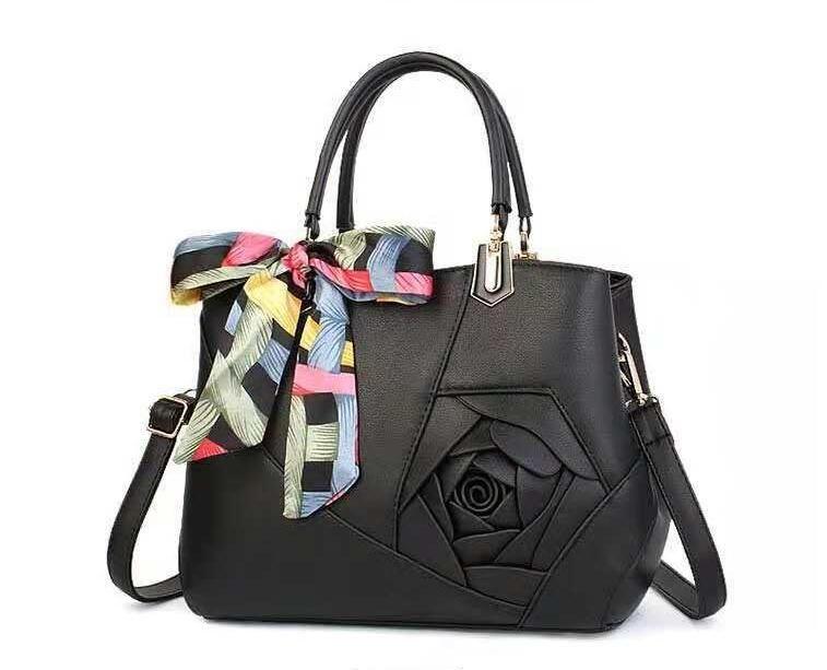 المرأة الجديدة حزمة ثلاثي الأبعاد حقائب اليد زهرة أوروبا والولايات المتحدة الأزياء حقيبة كبيرة حقيبة الكتف الغلاف الجوي