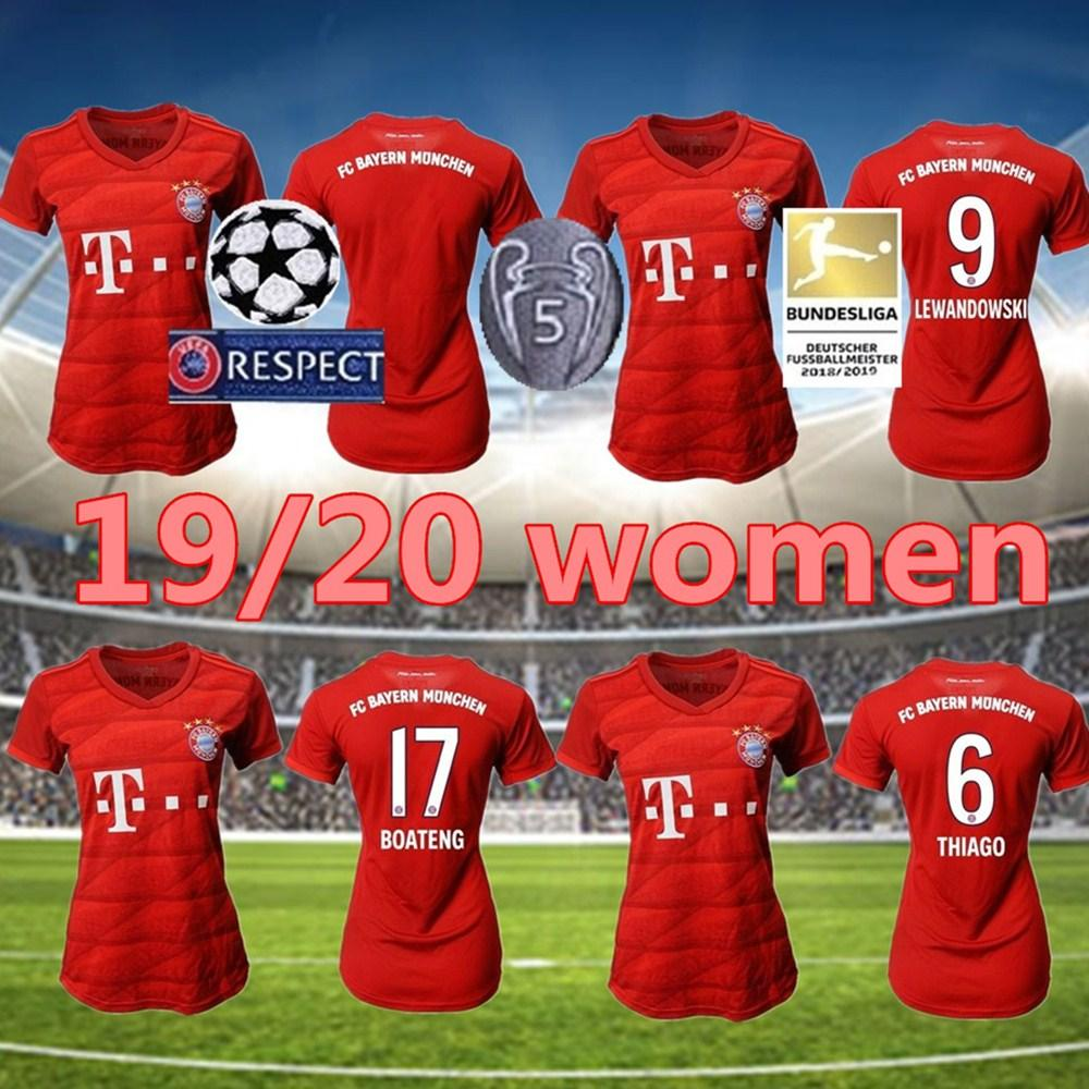 2020 19 20 Fc Bayern Munich Home Women Girls Rodriguez Soccer Jersey 2019 2020 Lewandowski Muller Kimmich Jersey Hummels Football Shirt From Top 500 Sports 12 7 Dhgate Com