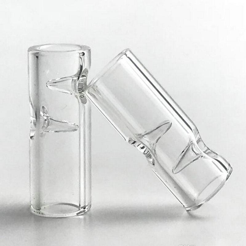 Мини Glass Filter Советы XL Большой размер с 30 мм * 7 мм Очистить Pyrex стекло 2мм фильтра Совет Для Tobacco стекла Smoking