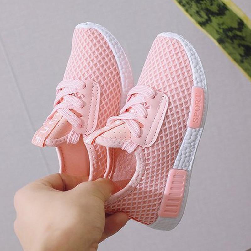 Kid Running Sneakers 2020 Summer Children Sport Zapatos Tenis Infantil Muchacho Cesta Calzado Ligero Transpirable Chica Chaussure Enfant