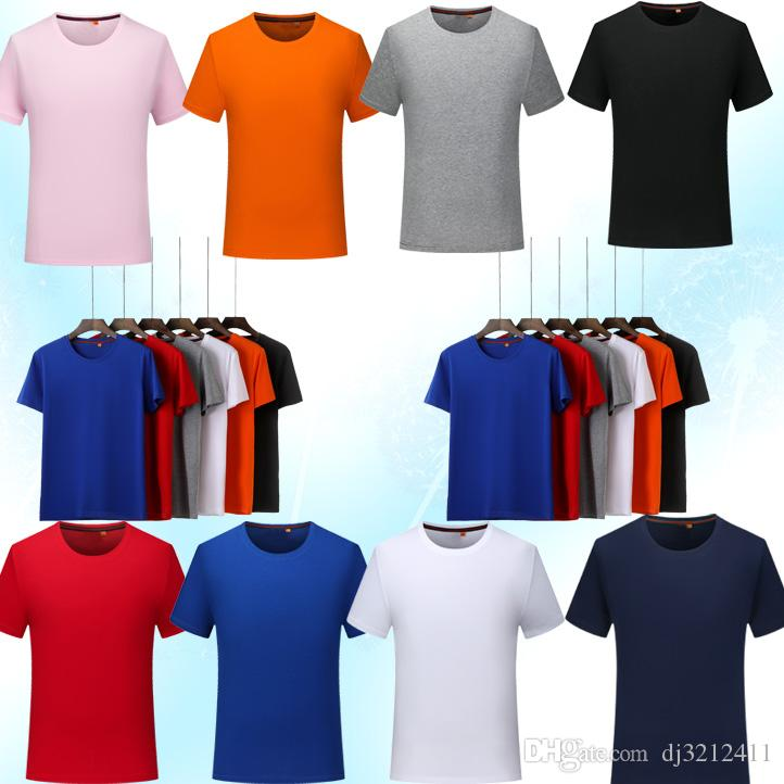 T-shirts for men and women high quality 60 95% cotton 5% spandex clothes printed pattern