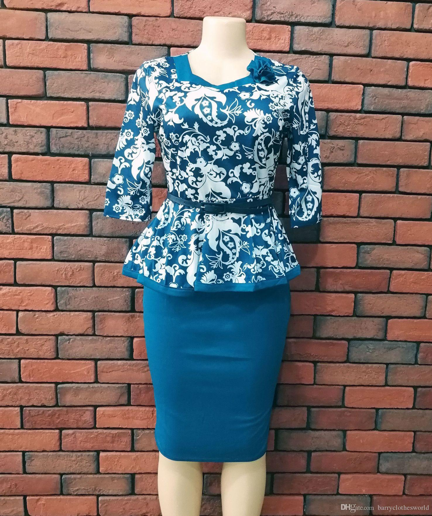 2019 African Dresses For Women African Clothes Africa Dress Print Beautiful  Cheap Dresses Dashiki Ladies Clothing Ankara Plus Size From