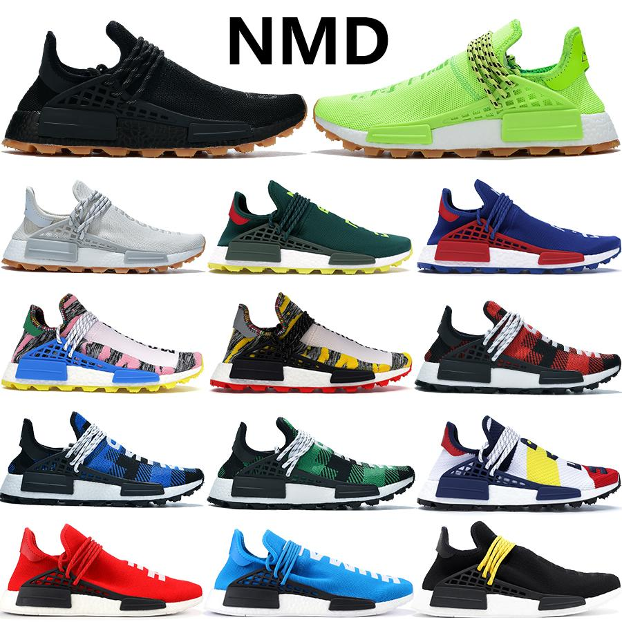 2020 Cheap NMD HUMAN RACE Pharrell Williams Mens Womens know soul infinite species Solar Pack Mother Fashion trainers Sneakers running shoes