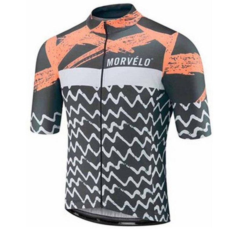 Ropa de deporte al aire libre Jersey de ciclo primavera de moto de verano de manga corta de bicicletas MTB camisas desgaste de la bici Jersey