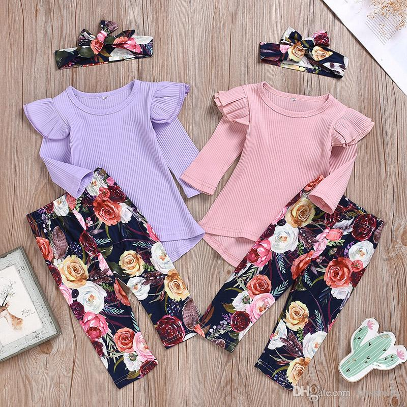 Toddlers Infant Baby Kids Dresses Sleeveless Ruffle Floral Clothes Mini Dress Outfits