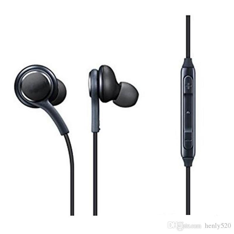 جديد S8 سماعة سوداء في الأذن سماعات سماعات سماعات يدوي لسماعات الأذن سامسونج غالاكسي S8 S8 زائد OEM
