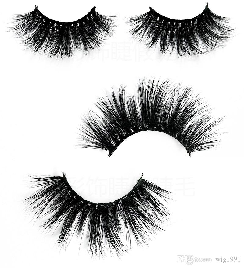 5D Wimpern Große Wimpern 16 Stile Lange Dicke Individuelle Handgemachte Natürliche Wimpernverlängerung