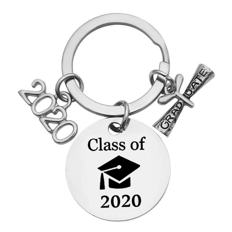 Creative Stainless Keychain 2020 Graduation is not the end it's the beginning For Graduation Gift Party Favor RRA2892