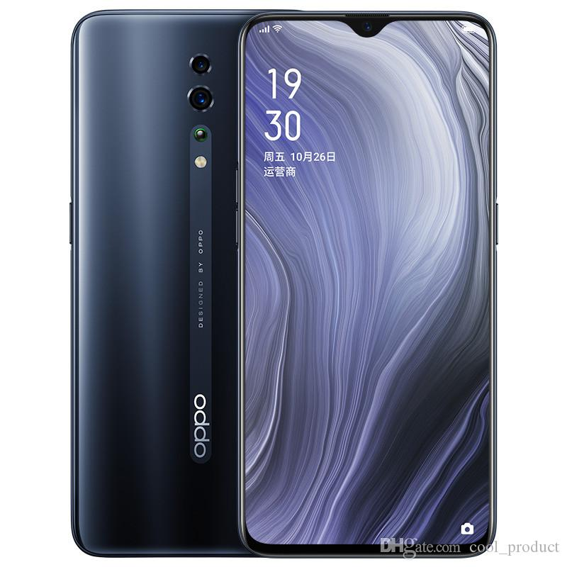 "Original OPPO Reno Z 4G LTE Cell Phone 8GB RAM 128GB ROM Helio P90 Octa Core Android 6.4"" 48.0MP Fingerprint ID Face NFC Smart Mobile Phone"
