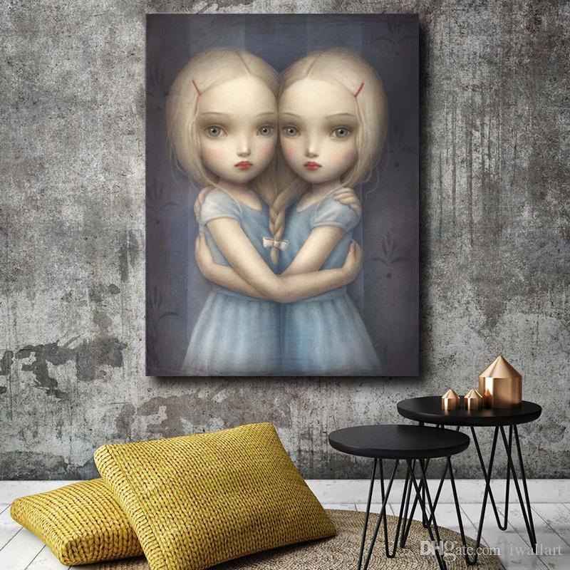 Beautiful Nightmare Of Mark Ryden Canvas Painting Wall Picture Poster And Print Decorative Home Decor
