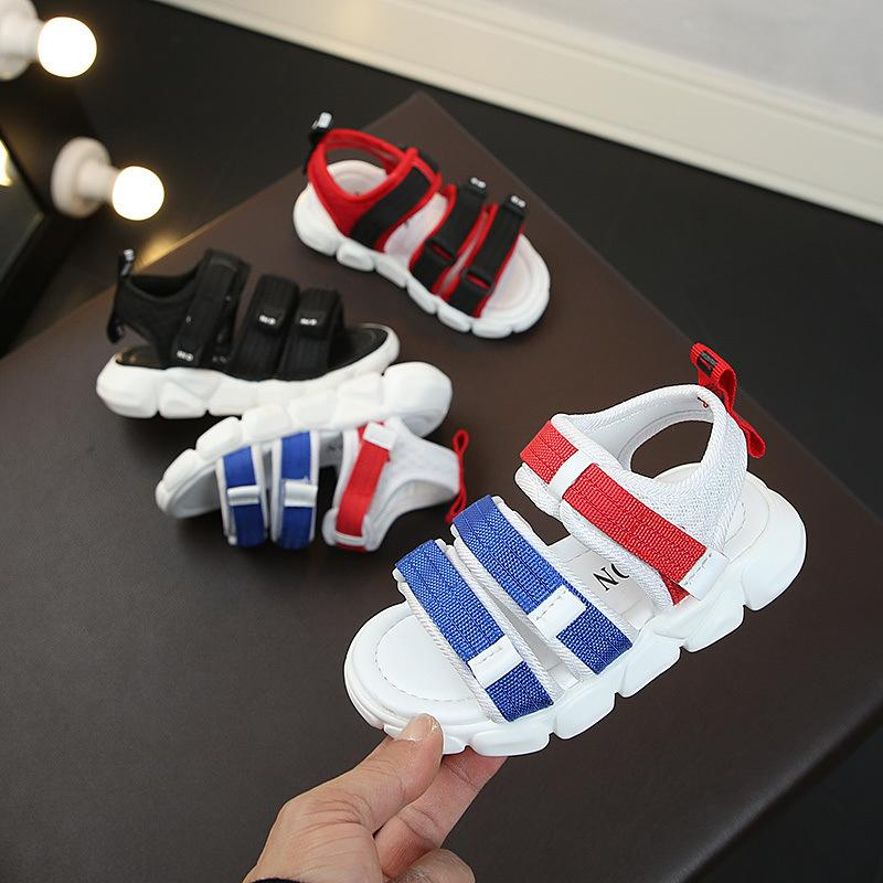Sandali dei nuovi bambini di estate, aperte in punta antiscivolo scarpe bambino, Boys'and ragazze Tempo libero Sandali T200411