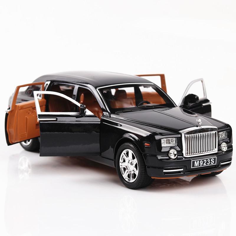 Lujo fundido a troquel del metal SUV modelo de coche para Range Rover Velar Colección-o-terreno Modelo Soundlight Juguetes coche regalo de los niños