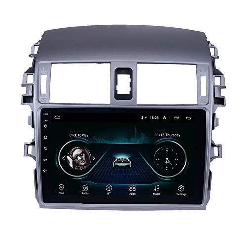 """WIFI, Bluetooth Müzik USB AUX desteği DAB SWC DVR ile 2007-2010 Toyota ESKİ Corolla için 9"""" Android 9.0 3g wifi araba video oynatıcı"""