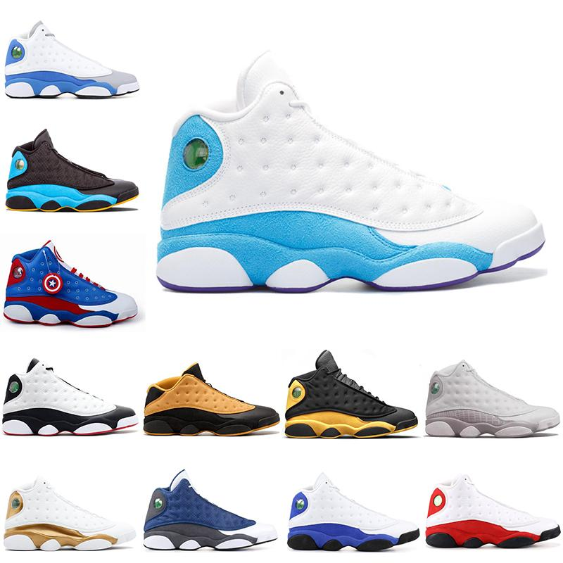 2018 New 13 13s Men Basketball Shoes cp3 home Captain America he got game Altitude Love & Respect hyper royal Chutney Sports Sneakers 7-