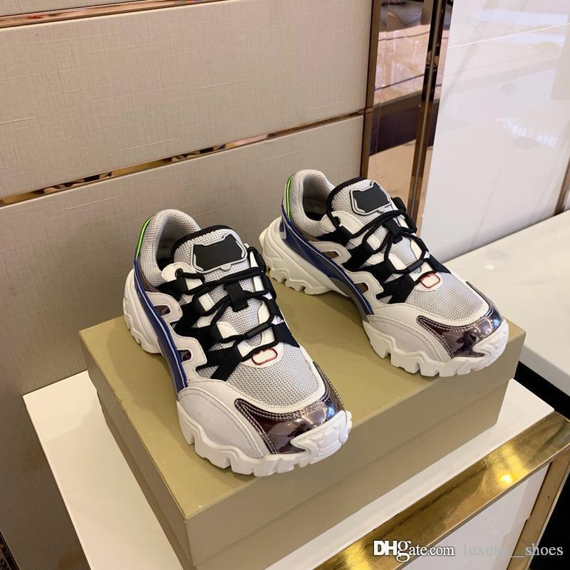 2019 design de luxe chaussures pour hommes hommes chaussures de sport de basket-ball Stan Smith formateurs mocassins star Chaussures Espadrilles vintage avec la taille de la boîte 38-45 -439